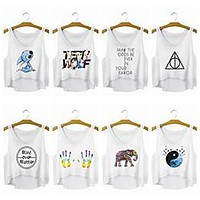 Lilo Stitch Teen Wolf Harry Potter Elephant Yin Yang Cool Story Bro Love Food tee t-shirt tank top hwd