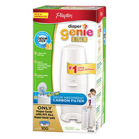 Playtex Diaper Genie Elite with 100 Count Refill & Carbon Filter