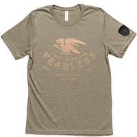 FATE Loves The Fearless Tee - Olive/Gold