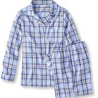 Tartan Flannel Pajama Set: Sleepwear | Free Shipping at L.L.Bean