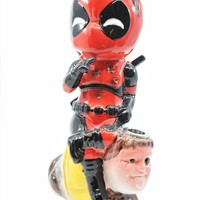 Deadpool Ceramic Water Pipe