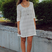 Head Over Heels Dress - Cream