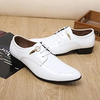 designer italian Patent Leather shoes man dress shoes skin shoes