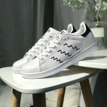 """""""Adidas Stan Smith"""" Unisex Fashion Casual Plate Shoes Couple Small White Shoes Sneakers"""