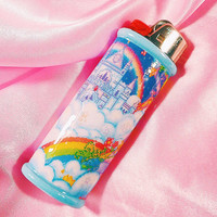 Rainbow Castle Kawaii Bic Lighter Case