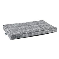 Jacquard Luxury Dog Crate Mattress Pad — Tribeca