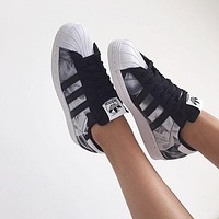 Adidas Superstar Women Casual Running Sport Shoes Sneakers