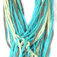 Multi-color Rope knotted Scarf a  fashion statement scarf
