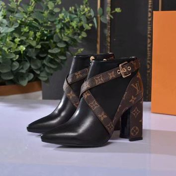 Louis Vuitton LV Matchmake Ankle Boot