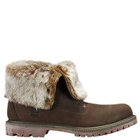 Timberland | Women's Timberland Authentics Faux Fur Fold-Down Boots