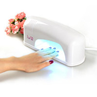 Portable 9W UV Lamp Light Acrylic Nail Dryer for CND Shellac Gel Polish Nails Beauty Cosmetics