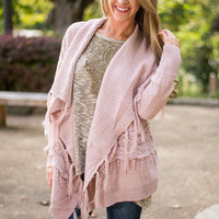 Rise To The Occasion Cardigan, Pink