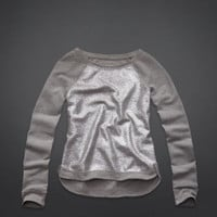 Dana Strands Sparkle Sweatshirt