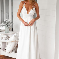 Sexy Women Beach Dress V Neck Spaghetti Strap Beach Maxi Long Sundress Plus Size Women clothing White SM6