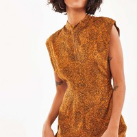 Golden Haze Jumpsuit - Gold