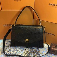 DCCK L012 Louis Vuitton LV Eppritene Handbag 32-24-10cm Black