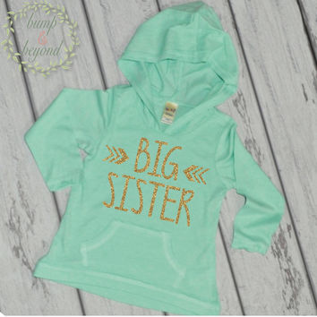 Big Sister Shirt Big Sister Announcement Shirt Big Sister Hoodie Little Sister Shirts Sibling Pregnancy Baby Announcement Shirt 015