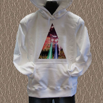 Triangle cat Hoodie unisex adults Size S to 2XL