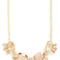 Champagne Under the Chandelier Necklace
