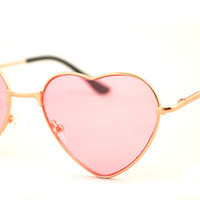 heart shape sunglasses from MoLa_MoLa