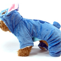Comfy Stitch Dog Sherpa Costume