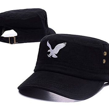 DEBANG American Eagle Outfitters AEO Logo Adjustable Embroidery Leisure Flat Hat Unisex Casual Fitted Cap