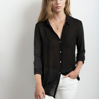 DYLANA LUXE SLUB WITH CREPE BLOUSE - The Latest - Women