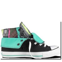 Converse - Chuck Taylor Two-Fold - Hi - Black/Sea Glass