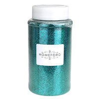 Fine Glitter Bottle, 1-Pound BULK, Aqua