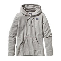 Patagonia Women's Midweight Hooded Monk Sweatshirt | Deconstructed Flying Fish: Java Brown