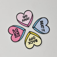 Candy Heart Patches