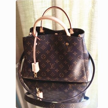 """LV"" shoulder bag female inclined shoulder bag G-LLBPFSH"