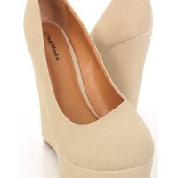 Beige Faux Leather Close Toe Platform Wedges @ Amiclubwear Wedges Shoes Store:Wedge Shoes,Wedge Boots,Wedge Heels,Wedge Sandals,Dress Shoes,Summer Shoes,Spring Shoes,Prom Shoes,Women's Wedge Shoes,Wedge Platforms Shoes,floral wedges,Fashion Wedge Shoes,Se