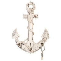 """Deco 79 Wood Anchor Hooks, 24 by 18"""""""
