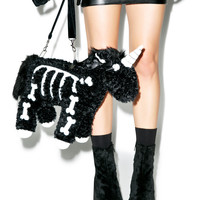 Dream Bags Uniskelly Purse Black/White One