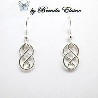 Simple Celtic Knot Earrings-(small)