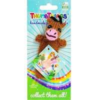 Cow Finger Puppet (brown)