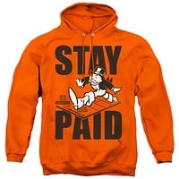 Monopoly Hoodie Stay Paid Orange Hoody