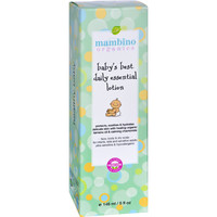 Mambino Organics Lotion - Baby's Best - Daily Essential - 5 fl oz