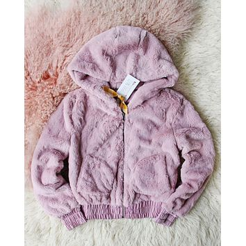 Frosted Mauve Coat