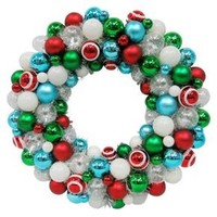 16'' Shatterproof Artificial Christmas Wreath - Wondershop™