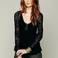 Free People  Sweet Dreams Lace Top at Free People Clothing Boutique