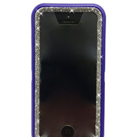 OtterBox Defender Series Case iPhone 5c Glitter Cute Sparkly Bling Defender Series Custom Case Purple / Graphite