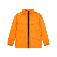 Nike Men's Sportswear Tech Pack High Density M65 Jacket Kamquat Orange