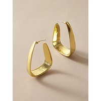 1pair Geometric Hoop Earrings