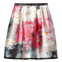 Honor Full Skirt - Printed Skirt - ShopBAZAAR