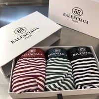 Balenciaga Fashion 3 Pairs of Men's Underwear Style #675