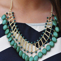 Jolly Green Giant Necklace: Emerald   Hope's