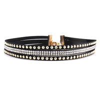 Disco Studded Choker