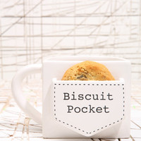 Biscuit Pocket Mug at Urban Outfitters